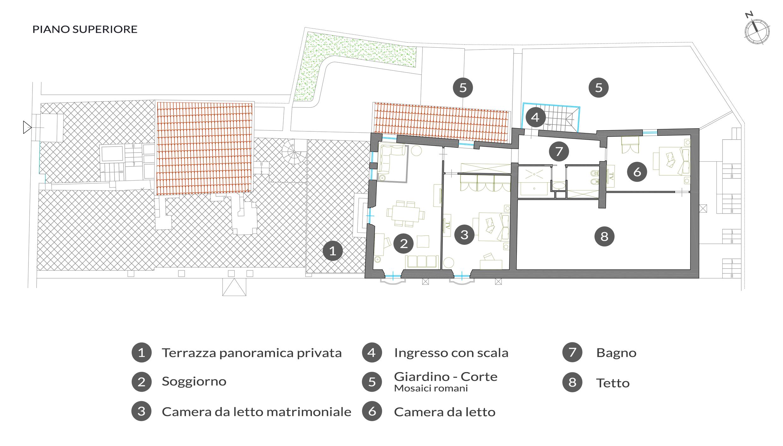Planimetria Casa 200 Mq. Casa Moderna Roma Italy Planimetria Bagno ...